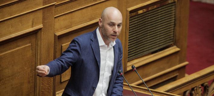 Ο Γιώργος Αμυράς/ Φωτογραφία: ΚΟΝΤΑΡΙΝΗΣ ΓΙΩΡΓΟΣ/Eurokinissi