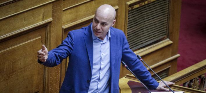 Ο Γιώργος Αμυράς /Φωτογραφία: Εurokinissi
