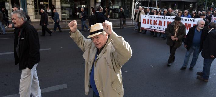 Μαζί με τις συντάξεις θα φορολογηθούν τα αναδρομικά/Φωτογραφία: Eurokinissi