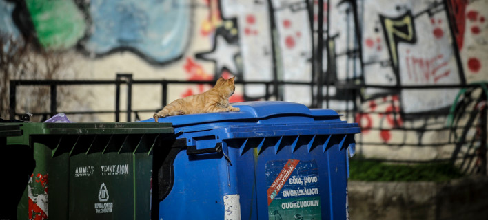 κάδοι ανακύκλωσης/Φωτογραφία: Eurokinissi
