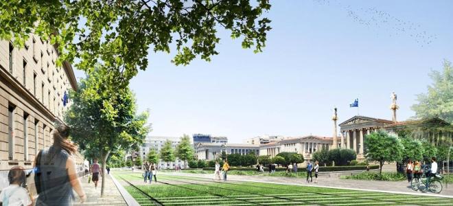 Η Αθήνα αλλάζει πρόσωπο -Μέσα στο 2015 ξεκινά η ανάπλαση της Πανεπιστημίου [εικό