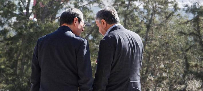 Συνάντηση Αναστασιάδη με Ακιντζί -Την Τετάρτη θα αποφασίσουν που θα συζητηθεί το εδαφικό