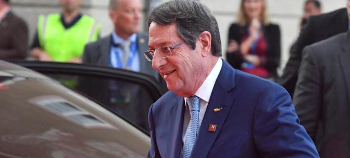 Νίκος Αναστασιάδης (Φωτογραφία: AP Photo/Kerstin Joensson)