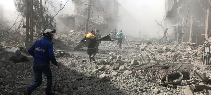 Συρία: Συνεχίζεται το σφυροκόπημα στη Γούτα - 250 άμαχοι νεκροί