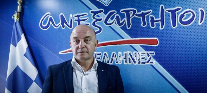 Ο Θεόδωρος Τοσουνίδης/ Φωτογραφία eurokinissi