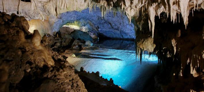 Το σπήλαιο της Ανεμότρυπας / Φωτογραφία: INTIMENEWS/ΚΟΤΣΙΡΕΑΣ ΗΛΙΑΣ