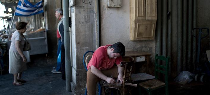 Αυξήθηκε η ανεργία τον Αύγουστο /Φωτογραφία: AP Photo/Petros Giannakouris