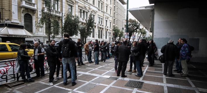 Ο αριθμός των απασχολουμένων ανήλθε σε 3.823.705 άτομα/ Φωτογραφία: Eurokinissi