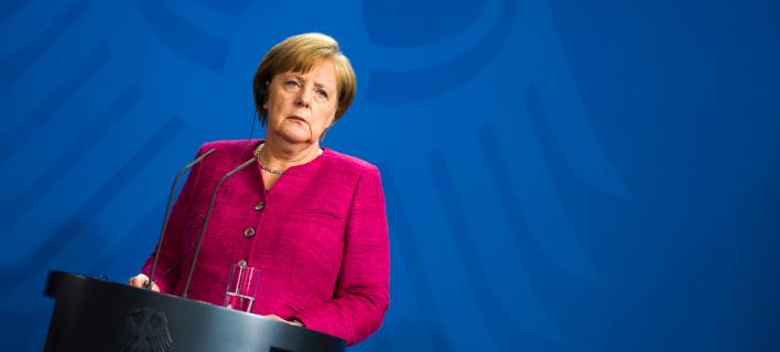 Η γερμανίδα καγκελάριος, Άνγκελα Μέρκελ. Φωτογραφία: AP