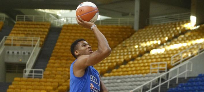 Eurobasket 2017: Πρώτο τεστ για την Εθνική, χωρίς τον Αντετοκούνμπο