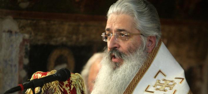 Ο Μητροπολίτης Αλεξανδρουπόλεως Ανθιμος- φωτογραφία Τατιάνα Μπόλαρη, eurokinissi