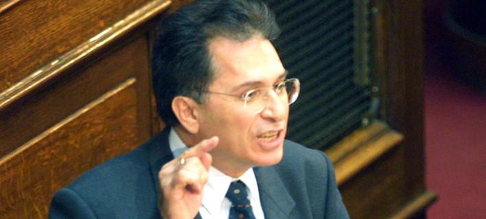 Ο πρώην υπουργός Γιάννης Ανθόπουλος / Φωτογραφία: Eurokinissi