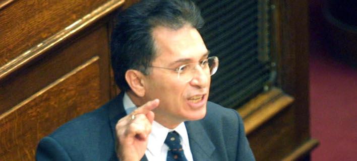 Ο πρώην υπουργός Γιάννης Ανθόπουλος -Φωτογραφία: Eurokinissi/ΠΑΝΑΓΟΠΟΥΛΟΣ ΓΙΑΝΝΗΣ