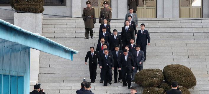 Φωτογραφία: Ξεκίνησαν οι συνομιλίες των δύο αντιπροσωπειών/AP