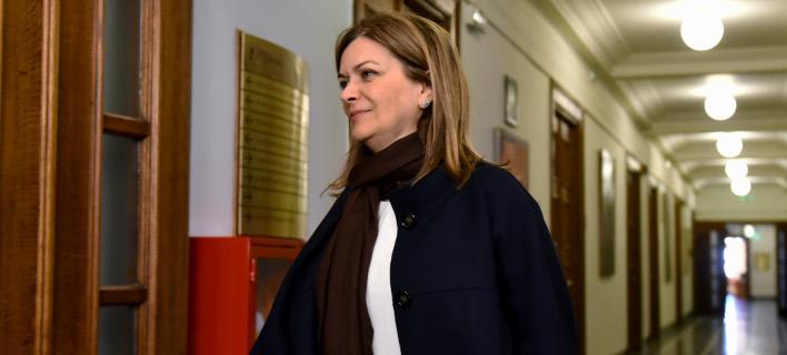 Η κυρία Ράνια Αντωνοπούλου. Φωτογραφία: Eurokinissi