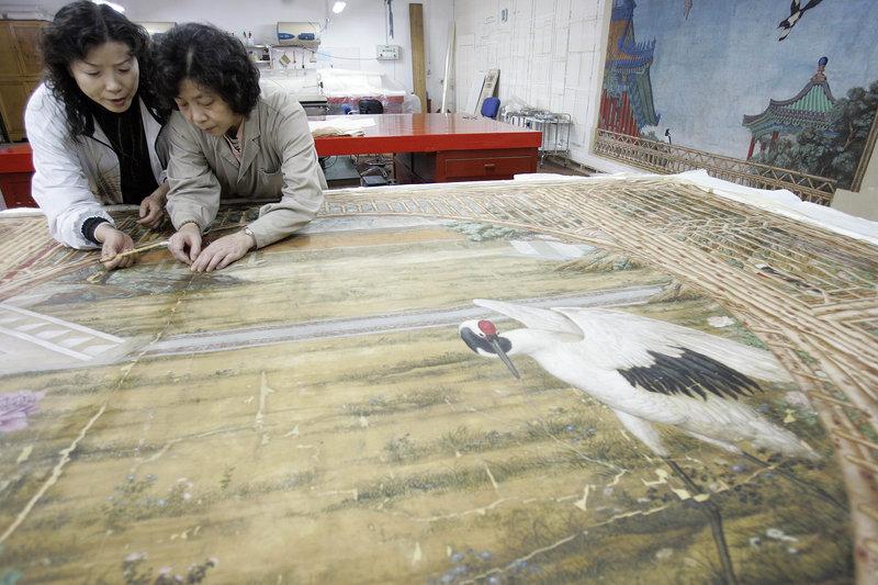 Μία απόψη από τα εκθέματα του Μουσείο στο Πεκίνο μέσα από τις φωτογραφίες του apimages
