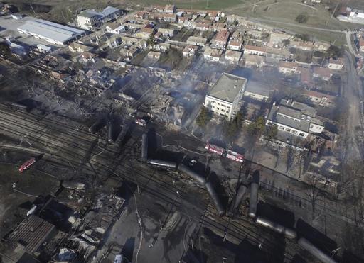 Αποτέλεσμα εικόνας για έκρηξη στην εμπορική αμαξοστοιχία στη Βουλγαρία