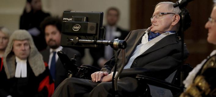 Ο Στίβεν Χόκινγκ πέθανε τον περασμένο Μάρτιο, φωτογραφία: apimages
