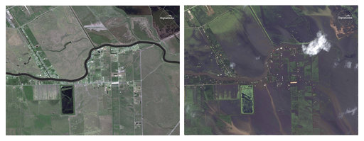 Φωτογραφίες που σοκάρουν!Το Τέξας πριν και μετά τον τυφώνα!Διέλυσε τα πάντα στο πέρασμα του!