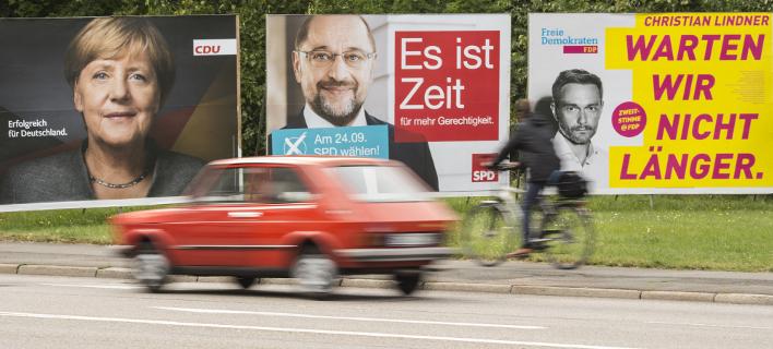 Αντίστροφη μέτρηση για τις εκλογές στην Γερμανία, φωτογραφία: AP images