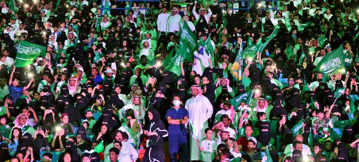 Μέχρι τώρα δεν μπορούσαν να παρακολουθήσουν αθλητικές εκδηλώσεις, φωτογραφία: AP images