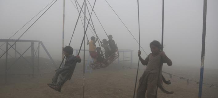 Συνδέεται στενά με άσθμα, πνευμονία, βρογχίτιδα και άλλες αναπνευστικές λοιμώξεις, φωτογραφία: AP images