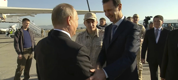 Διεμήνυσε ωστόσο πως θα διατηρήσει την αεροπορική βάση της Χμεϊμίμ, φωτογραφία: AP Images