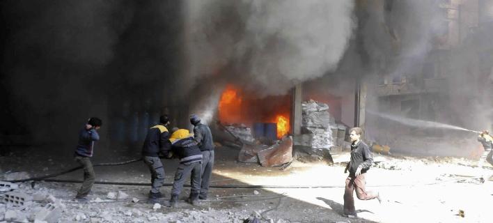 Γούτα: 250 άμαχοι νεκροί από βομβαρδισμούς -Περιμένουν τη σειρά τους μες στα καταφύγια [εικόνες]