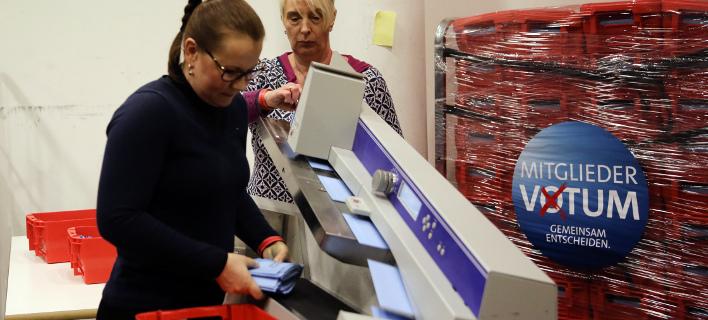 Σε 2300 μέλη του SPD στο εξωτερικό επετράπη η ηλεκτρονική ψήφος, φωτογραφία: apimages