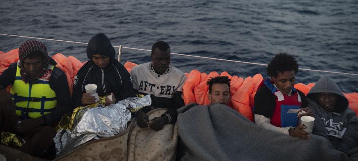 Μετανάστες, φωτογραφία: apimages