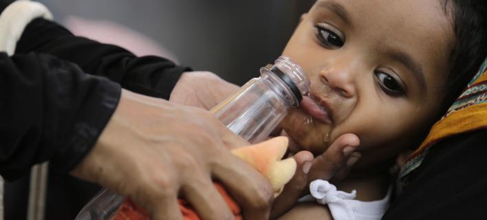 Σήμερα 600 εκατομμύρια Ινδοί αντιμετωπίζουν «υψηλή έως ακραία» λειψυδρία, φωτογραφία: apimages
