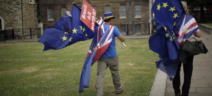 Η ακριβής νέα σχέση με την ΕΕ δεν έχει ακόμη αποσαφηνιστεί, φωτογραφία: apimages