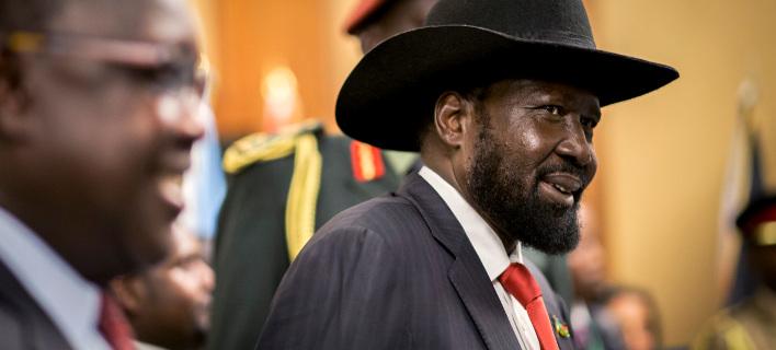 Ο πρόεδρος του Νότιου Σουδάν Σάλβα Κιρ /Φωτογραφία AP images