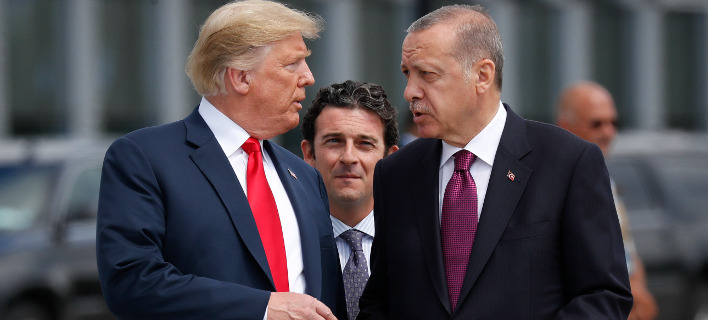 O Ντόναλντ Τραμπ και ο Ταγίπ Ερντογάν/ Φωτογραφία AP images
