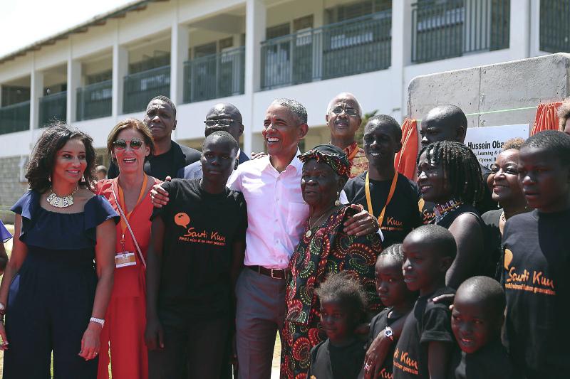 Στο νέο κέντρο αθλητικής κατάρτισης στην Κένυα