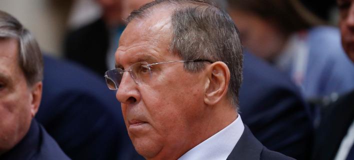 Ο Σεργκέι Λαβροφ/ Φωτογραφία AP images