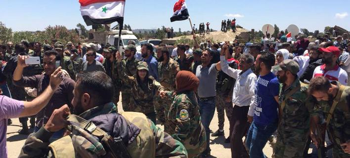 Τα συριακά στρατεύματα υποστηρίζονται στρατιωτικά από τη Ρωσία και το Ιράν, φωτογραφία: apimages