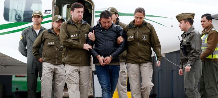 Σύλληψη στη Χιλή /Φωτογραφία AP images