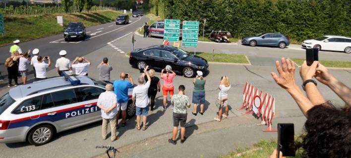 O Bλάντιμιρ Πούτιν στην Αυστρία/ Φωτογραφία AP images