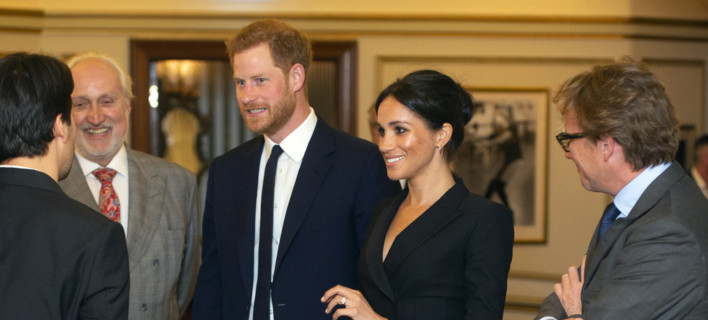 Η Μέγκαν Μαρκλ και ο πρίγκιπας Χάρι /Φωτογραφία: AP