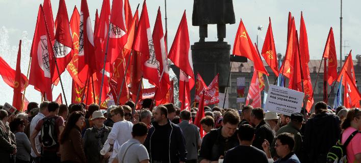 Διαδηλώσεις Ρωσία/ Φωτογραφία AP images