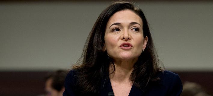 Η γενική διευθύντρια του Facebook, Σέριλ Σάντμπεργκ/ Φωτογραφία AP images