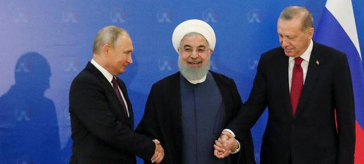 Εντονη αντιπαράθεση Πούτιν-Ερντογάν για τη Συρία -«Ναυάγιο» στη Σύνοδο της Τεχεράνης