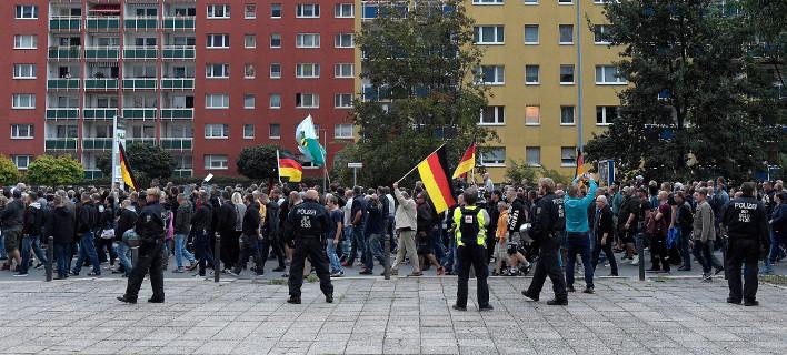 Γερμανία διαδήλωση /Φωτογραφία AP images