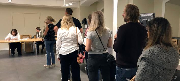 Εκλογές Σουηδία /Φωτογραφία AP images