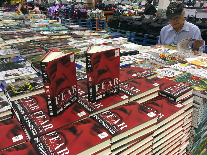 Ο «Φόβος» είναι το 19ο βιβλίο του 75χρονου σήμερα βετεράνου δημοσιογράφου