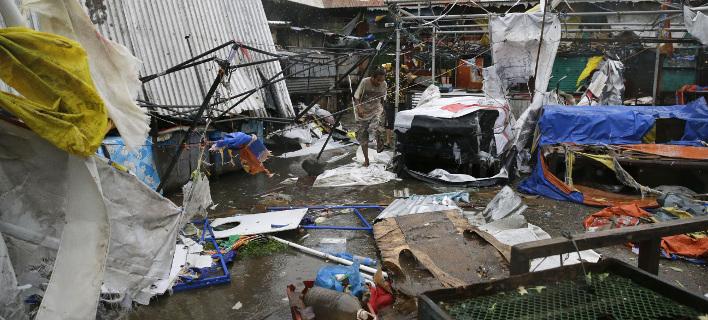 Στην περιοχή που έπληξε ο τυφώνας κατοικούν περίπου 10 εκατομμύρια άνθρωποι, φωτογραφία: apimages