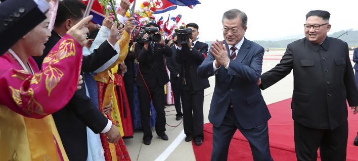 Επιτυχής η δια-κορεατική σύνοδος κορυφής, φωτογραφία: apimages