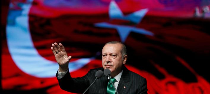 Ο Ταγίπ Ερντογάν/ Φωτογραφία AP images