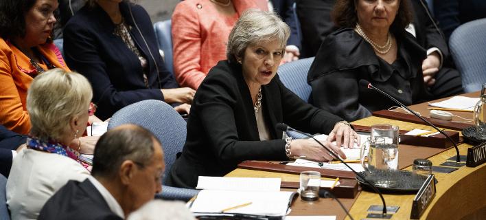 Η Τερέζα Μέι θα μιλήσει στους 27 ηγετες της ΕΕ, φωτογραφία: apimages